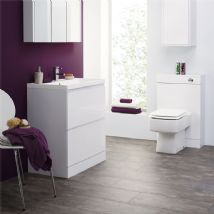 High Gloss White Bathroom Furniture